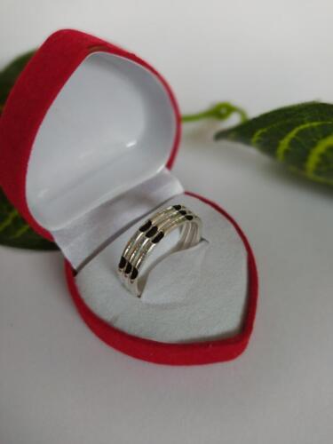 แหวนเงินแท้ 925 แหวนเงินสอดขนหางช้างแบบแฝด 3 ชั้น วงละ 289 บาท