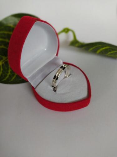 แหวนเงินแท้ 925 แหวนเงินสอดขนหางช้างแบบแฝด 2 ชั้น วงละ 189 บาท